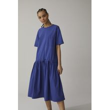 CLOSED Oversized Shirt Dress dark sea