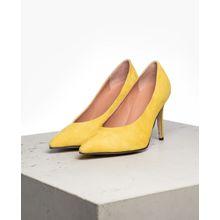 tigha Damen Schuhe Aura gelb (goat suede lemonade)