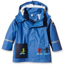 Sterntaler Baby - Jungen Regenmantel 5651500, Gr. 98, Blau (kobaltblau 353)