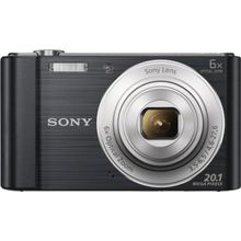Sony Cyber-shot DSC-W810 Kompakt Kamera, 20,1 Megapixel schwarz