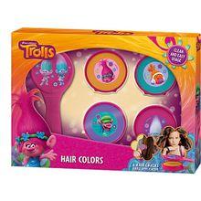 Trolls Haarkreide Mädchen Kinder