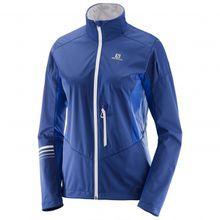 Salomon - Women's Lightning Softshell Jacket - Softshelljacke Gr XS blau