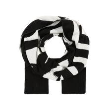 DIESEL Schal 'GUBO ' schwarz / weiß
