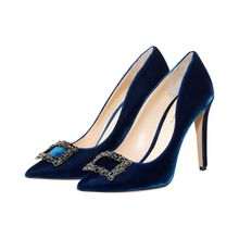 Fabio Rusconi Uva Pumps - Blau (36, 37,5, 38, 39, 39,5, 40)