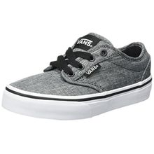 Vans Unisex-Kinder Atwood Sneaker, Grau (Rock Textile), 28 EU