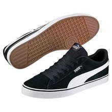 Puma 1948 VULC, Unisex-Erwachsene Sneakers, Schwarz (Black-White 04), 44.5 EU (10 Erwachsene UK)