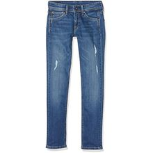 Pepe Jeans Jungen Cashed Jeans, Blau (Denim), 14 Jahre