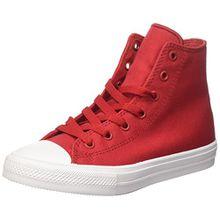 Converse Unisex-Kinder CTAS Ii Hi Sneakers, Rot (Salsa Red/White/Navy), 34 EU
