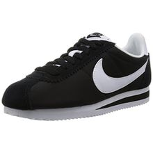 Nike Damen Wmns Classic Cortez Nylon Sneakers, Schwarz (Black/White), 36 EU