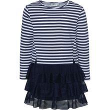 MEXX Kleid dunkelblau / weiß
