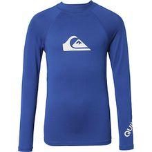 Schwimmshirt ALL TIME  mit UV-Schutz Jungen blau  Erwachsene