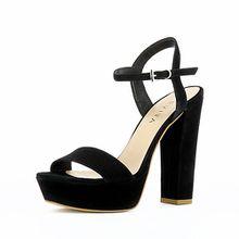 Evita Shoes Sandaletten schwarz Damen