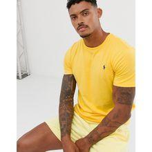 Polo Ralph Lauren - Gelbes T-Shirt mit Polospieler-Logo - Gelb