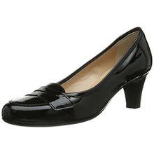 Evita Shoes Pumps geschlossen, Damen Pumps, Schwarz (Schwarz), 36 EU (3.5 Damen UK)