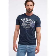 Petrol Industries T-Shirt blau Herren