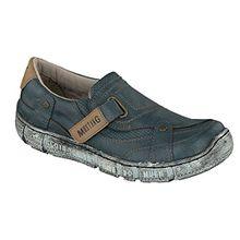 Mustang Damen Halbschuhe Blau, Schuhgröße:EUR 41
