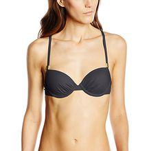 Skiny Damen Bikinioberteile Ocean Love Schalen BH, Gr. 70A, Schwarz (black 8596)