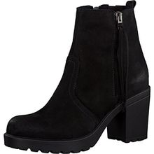 Tamaris Damenschuhe 1-1-25045-37 Damen Stiefeletten, Boots, Stiefel schwarz (BLACK), EU 38