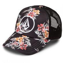 Volcom - Women's Good Timez Hat - Cap Gr One Size schwarz/grau