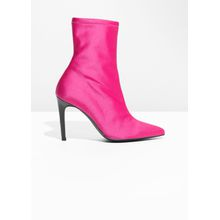 Neon Sock Boots - Pink