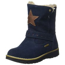 Primigi Mädchen Progt 8605 Stiefel, Blau (Navy), 35 EU