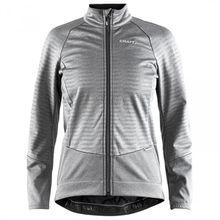Craft - Women's Rime Jacket - Fahrradjacke Gr L;XS grau/schwarz