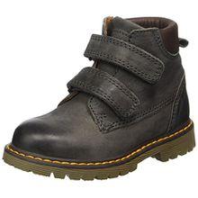 Bisgaard Unisex-Kinder Klettstiefel Combat Boots, Grau (402 Grey), 31 EU