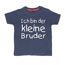 Baby & Kleinkind Marine T-shirt 62-68 'ICH BIN DER KLEINE BRUDER'
