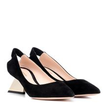 Pumps Veronika aus Veloursleder