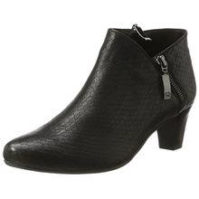 GERRY WEBER Shoes Damen Lena 07 Stiefeletten, Schwarz (Schwarz 100), 37 EU