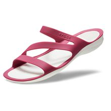 Crocs »Swiftwater Sandal« Pantolette zum Baden