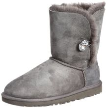 UGG Australia Damen Bailey Button Bling Stiefeletten, Grau (Grigio Grey), 39 EU
