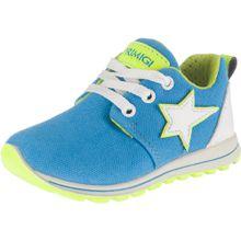 PRIMIGI Sneakers himmelblau / neongelb / weiß
