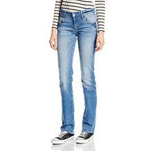 Mavi Damen Straight Leg Jeanshose OLIVIA, Gr. W27/L34, Blau (Blau lt lounge str)