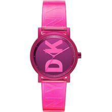 DKNY Uhr pink