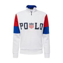POLO RALPH LAUREN Sweatshirt dunkelblau / rot / weiß