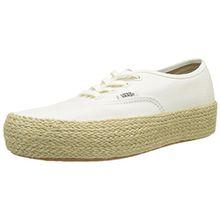 Vans Damen Authentic Platform ESP Sneaker, Elfenbein (Marshmallow Fs8), 36.5 EU