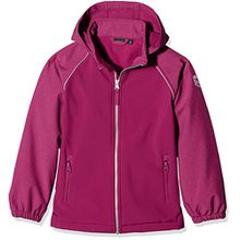 NAME IT Mädchen Jacke Nitalfa Softshell Jacket Ane Nmt FO Camp, Rosa (Anemone), 152