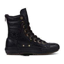 Converse Leder-Boots Women CT As Hi Rise Boot 553387C Schwarz, Schuhgröße:37.5