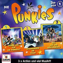 CD Die Punkies 01 - 3er Box (Folgen 1,2,3) Hörbuch