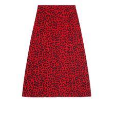 Rock mit Leoparden-Print