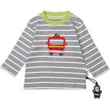 SIGIKID Baby Langarmshirt für Jungen grau