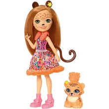 Enchantimals Gepardenmädchen Cherish Cheetah Puppe
