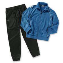 KAPPA Jogginganzug 'EPHRAIM' für Jungen blau / schwarz