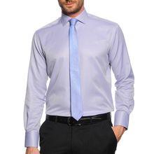 Milano Hemd Regular Fit + Krawatte in grau für Herren