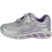 GEOX Sneakers 'Blinkies Shuttle' helllila / silber