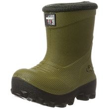 Viking Unisex-Kinder Frost Fighter Schneestiefel, Grün (Olive/Black), 21 EU