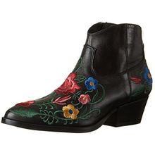 Liu Jo Damen Reiko Cowboy Stiefel, Mehrfarbig (Nero/Multicolor), 38 EU