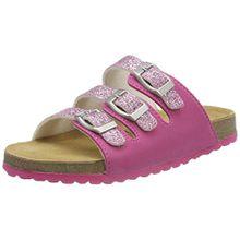 Supersoft Mädchen 474 289 Pantoffeln, Pink (Pink), 34 EU