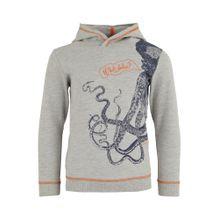 ESPRIT Sweatshirt mit Kontrast-Nähten grau